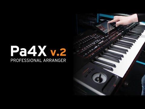 KORG Pa4X OS