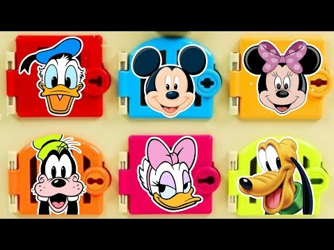 Mickey Mouse Clubhouse Trapped Door Toys Surprises