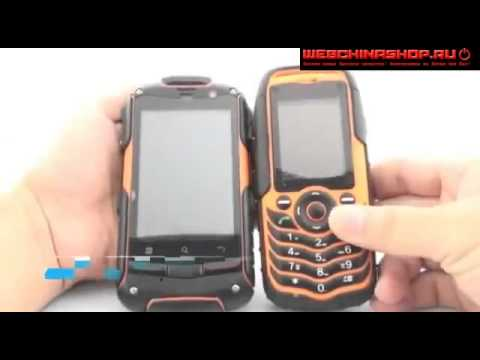 самый прочный сенсорный телефон