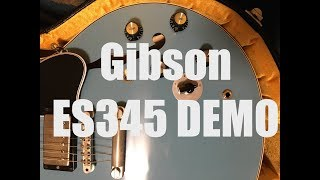Gibson ES-345 Demo and the Gibson Varitone Explained