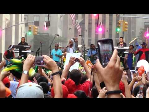 Shaggy LIVE in New York City  - It wasn't me @ NBC's Today Show