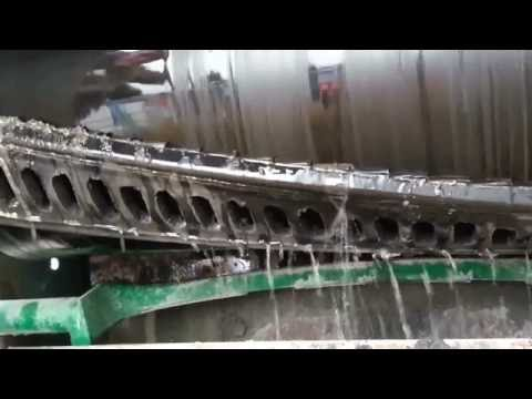 BELT CLEANING: MARTIN® Cleanscrape Demo - Wet & Sticky