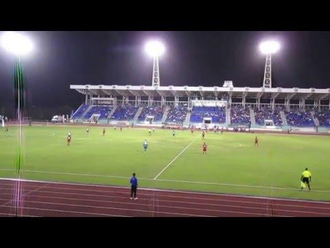 Coupe des Caraïbes de Football Bermudes 2 Guyane Française 1 Tout Buts 26/03/16 Pt3