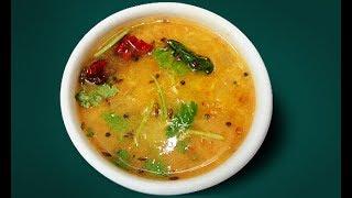 Pasi paruppu sambar in Tamil / Moong Dal Sambar Recipe / Tiffin Sambar in Tamil