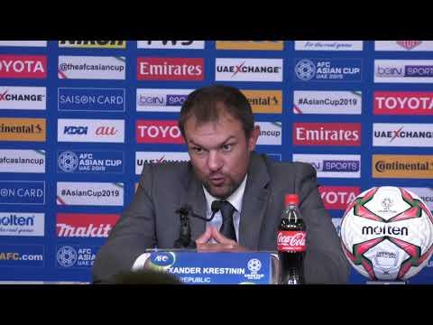 Kyrgyz Republic v Korea Republic post-match press conference