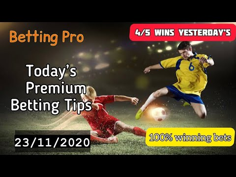 daily-betting-tips-|-23/11/2020-|-football-predictions-today-|-fixed-matches