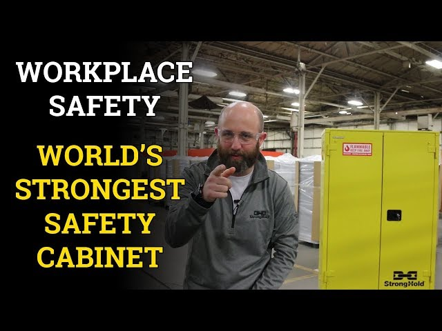 Workplace Safety: These Safety Cabinets Are Just Stronger