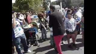 Okeyny Primo Banda Se Roba EL Show En El Desfile Centro Americano  Nueva York 9-16-2012