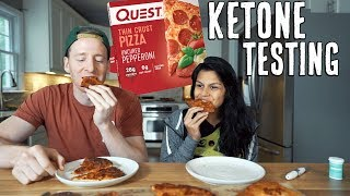 Quest Pizza Review + Ketone Testing | Full Day of Keto Eating