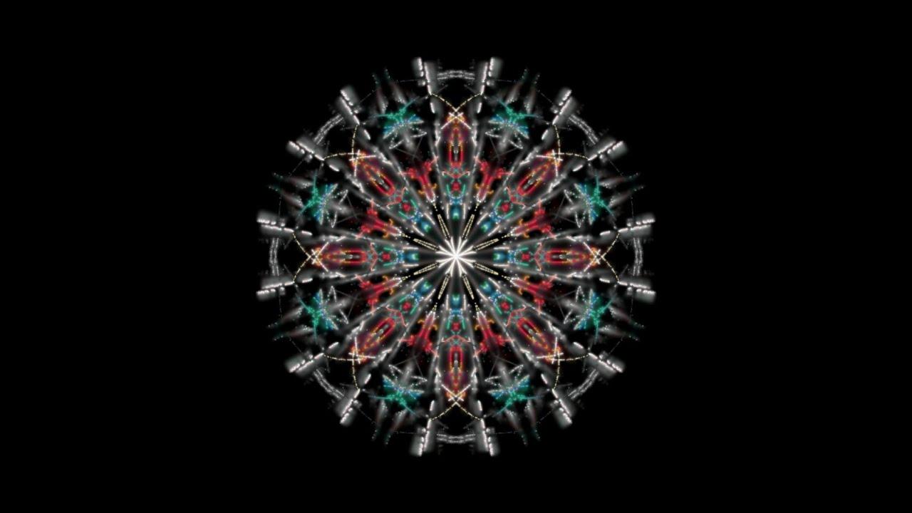 Psychedelic Sacred Geometry Mandala 3d Animation Trippy