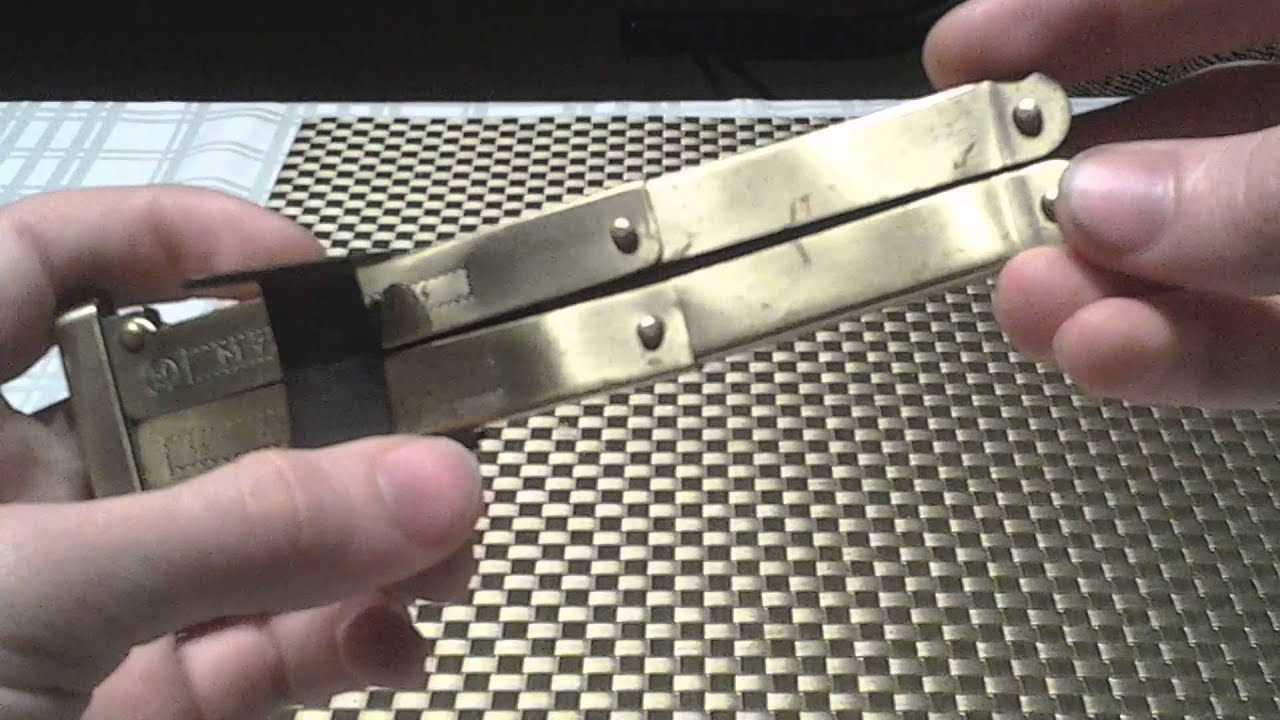 Knife Review: Replica Nazi Pantographic Knife - YouTube