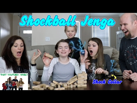 Shockball Jenga / That YouTub3 Family