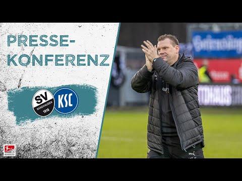 Pressekonferenz | vor dem Spiel | SV Sandhausen - Karlsruher SC