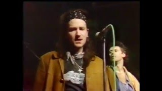 """U2 - """"Womanfish"""" (Unreleased Song) Live from Tv Gaga 30th Jan, 1986"""