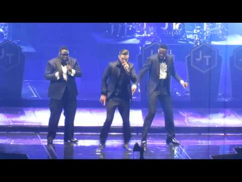 Justin Timberlake - &39;Poison&39; Bell Biv DeVoe cover - Barclays Center - Brooklyn NY - 11613