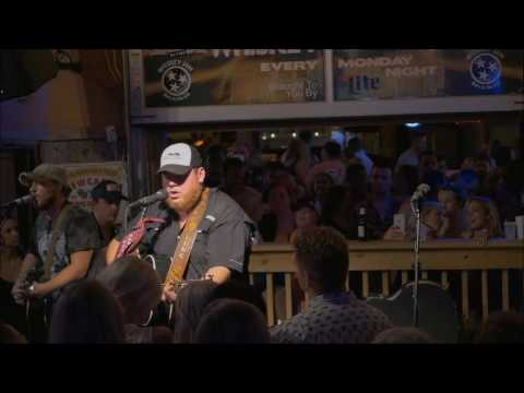 Luke Combs - Beer Can - Whiskey Jam, July 25, 2016