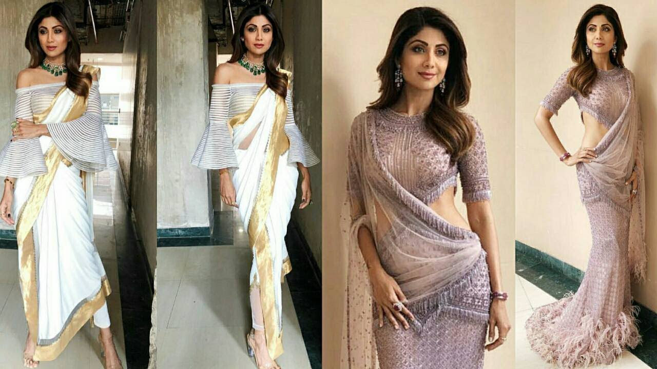 Party Wear Saree Latest Designer Saree Collection 2018 Fancy Saree