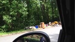 Illegal Bulk Trash Dump - Winston-Salem, NC