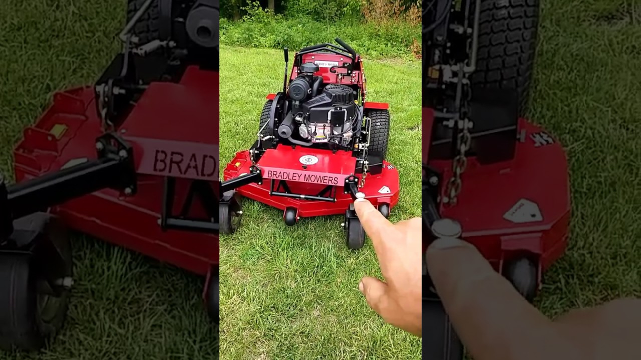 Bradley mower review with video! | LawnSite