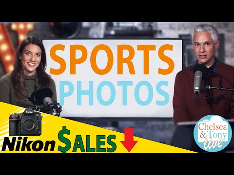64 megapixel smartphones, Nikon Sales PLUMMET + SPORTS photos: TC LIVE