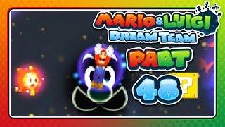Mario & Luigi: Dream Team - Part 48: SWIMMING THROUGH SPACE!