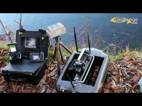 Carplounge Funk Kamera Wireless Underwater Cam For Baitboat In Action