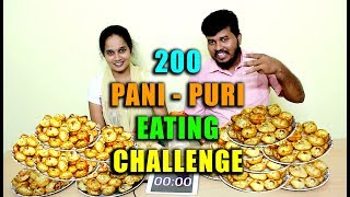 world's biggest pani puri eating challenge
