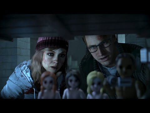 Until Dawn - Chris Comforts Ashley After Emily Is Shot By Mike