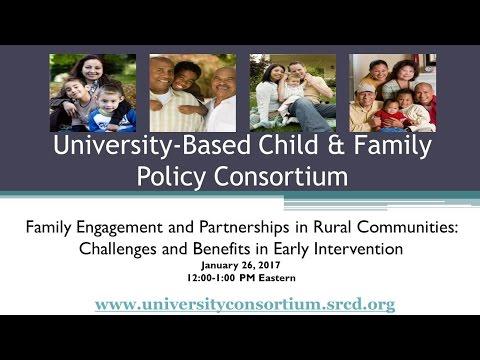 CFP Consortium Webinar: Family Engagement and Partnerships in Rural Communities
