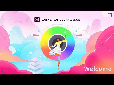 Adobe XD Daily Creative Challenge - Welcome!