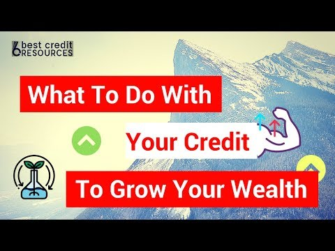 Building Wealth With Your Credit - Finance Talk on April 14 of 2018