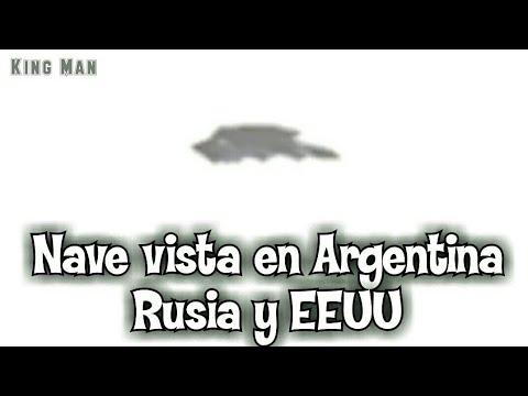 La nave alienígena que fue vista desde el G20 en Argentina, EEUU, Rusia y por último Reino Unido