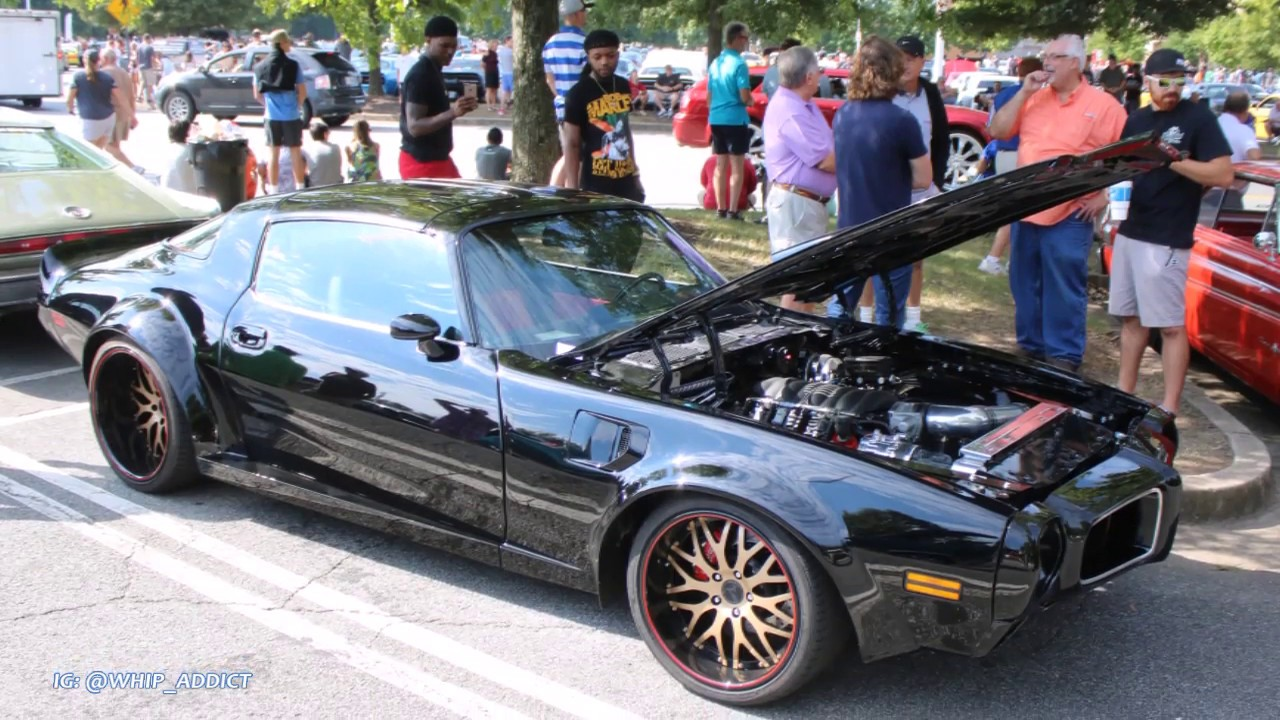 WhipAddict: Widebody T-Top 81' Pontiac Trans Am Firebird on 20/22s w/73'  Front and LS Motor