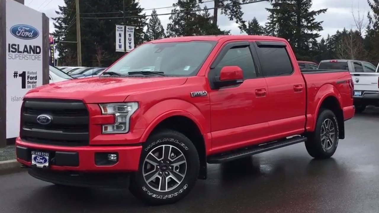 2017 ford f 150 lariat sport technology 502a v8 supercrew 4x4 pro trailer backup review youtube. Black Bedroom Furniture Sets. Home Design Ideas