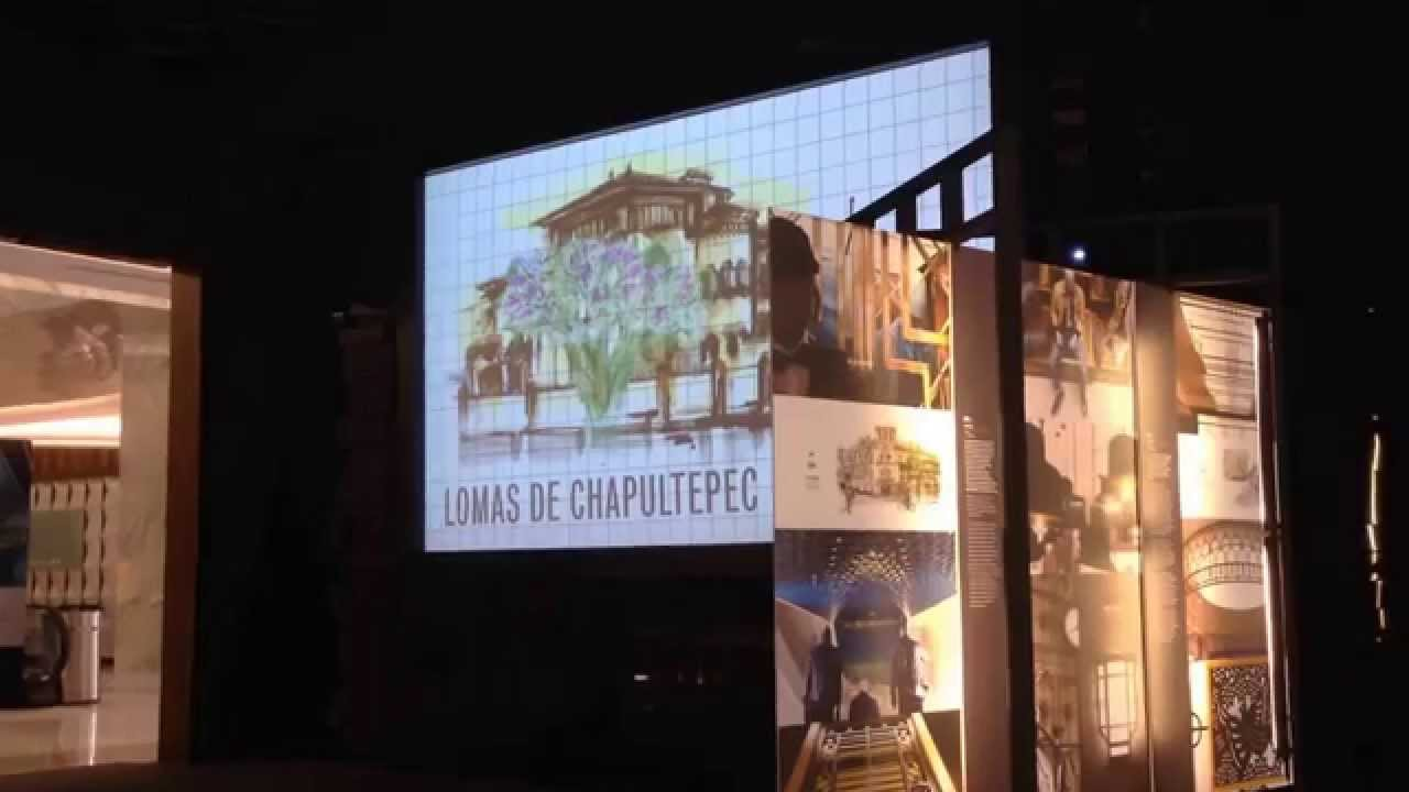Pantalla Split Flap Concept 1 Palacio De Hierro Moliere