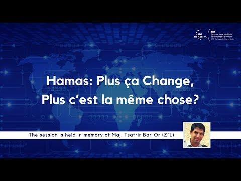 Hamas: Plus ça Change, Plus c'est la même Chose?