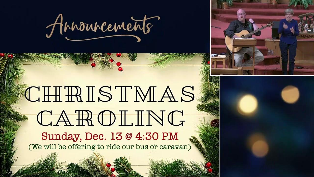 Wednesday Night LIVE! at OGBC (Dec. 2, 2020)