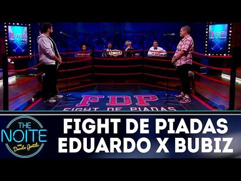 Fight de Piadas: Bubiz Barros x Eduardo Castilho | The Noite (17/07/18)