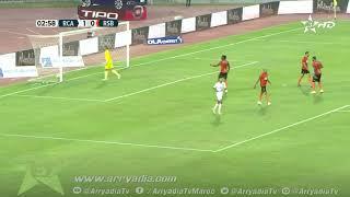 الرجاء الرياضي 1-0 نهضة بركان هدف سفيان رحيمي في الدقيقة 03