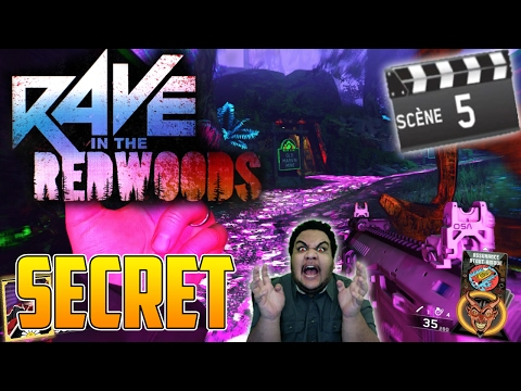 SECRET MANCHE 5 RÉUSSI! RAVE IN THE REDWOODS! INFINITE WARFARE ZOMBIES!