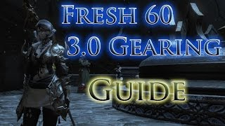 FFXIV: HW - Quick, Fresh level 60 Gearing guide for newbies