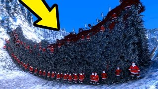 THE GIANT PENGUIN WALL!!!   Ultimate Epic Battle Simulator HD