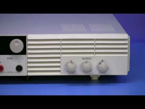 BK Precision- 9150 Series   Programmable DC Power Supplies Overview