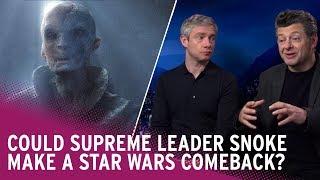 Could Supreme Leader Snoke return to Star Wars? Andy Serkis weighs in