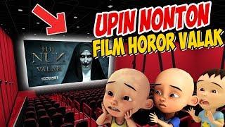 Download lagu Upin ipin Nonton Film Horor Valak di Bioskop ipin takut GTA Lucu MP3
