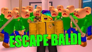 BALDI'S BASICS TAKE OVER ROBLOX JAILBREAK *TRY TO ESCAPE THEM!*
