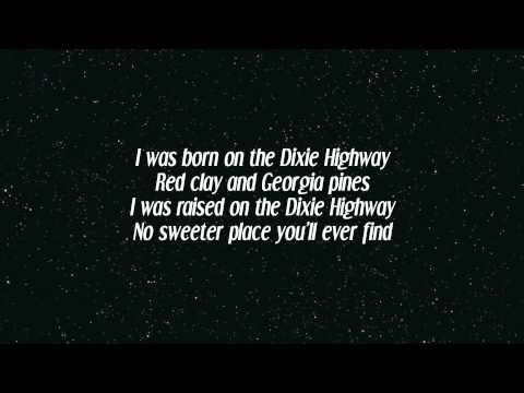 Alan Jackson - Dixie Highway (ft. Zac Brown) (Lyrics)