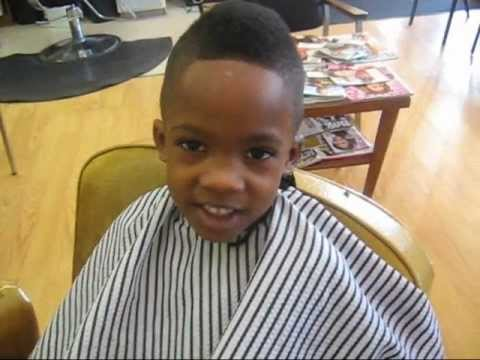 ... Portfolio: Martin does a Mohawk Haircut for cute little boy. - YouTube