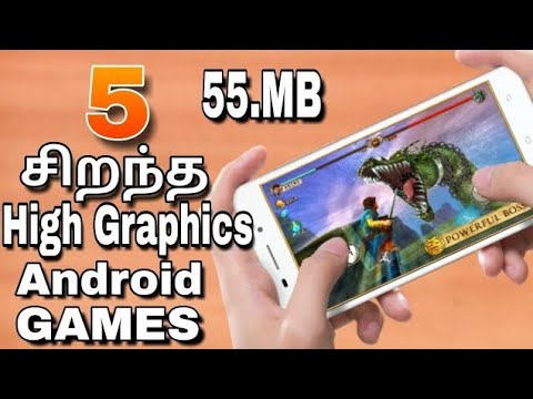 Top 5 High Graphics Android Games 2018 In Tamil (தமிழ்)
