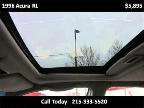 1996 Acura RL Used Cars Philadelphia Pennsylvania